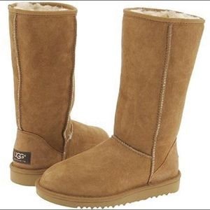 NWT Chestnut Tall Uggs Size 8